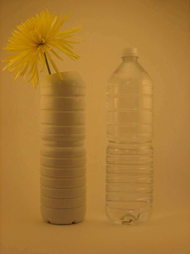 Bottled Water Vases