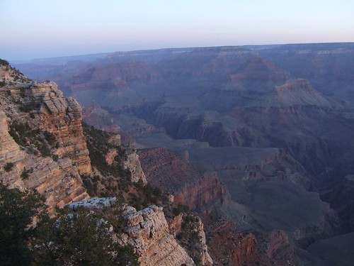 First Light over the Canyon