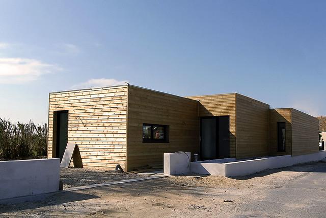 maison bois 224 toit plat flickr photo