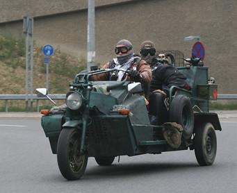 CUSTOM TRIKE - MOTORCYLE
