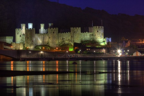 Conwy Castle by Eifion, on Flickr