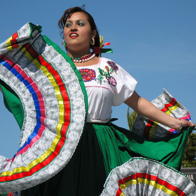 twirling cinco de mayo dress