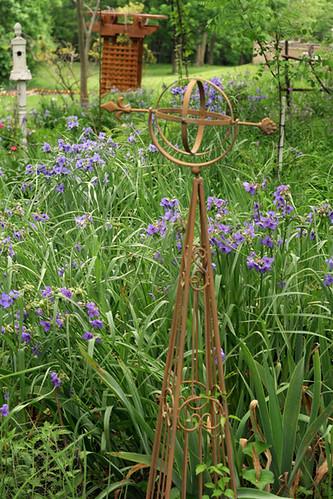 garden obelisks metal. Black Bedroom Furniture Sets. Home Design Ideas