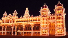 Palace in Night