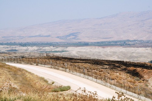 Roads and barriers in the West Bank