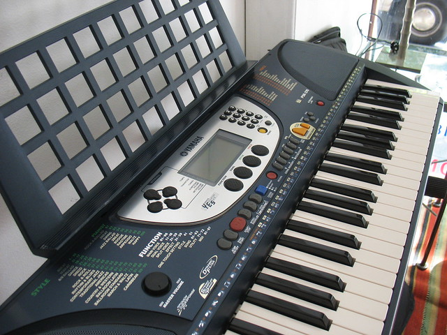 Photo:PSR-270 Yamaha Keyboard By HousingWorksPhotos