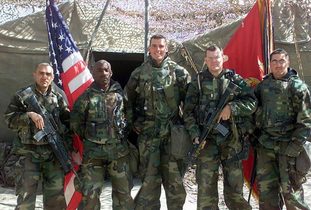 , Headquarters Battalion (HQBN), 1st Marine Division (MD), Division ...