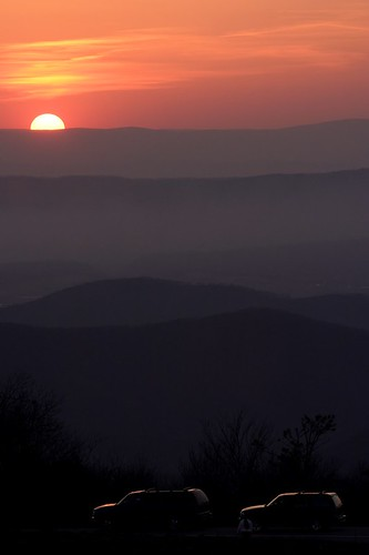 sunset red sky canon shenandoah eos10d bigmeadows tklancer