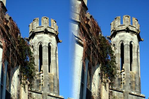 morning ireland irish dawn hotel stereoscopic stereogram stereophoto stereophotography 3d estate stereo manor stereograph parallel adare loreo sterescopic