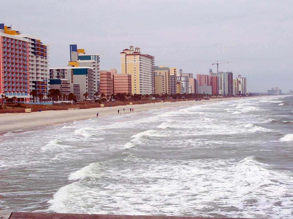 Myrtle beach for spring break / Colossal cave campground