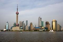 Shanghai Skyline by Keith Marshall
