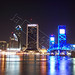 Downtown Jacksonville Florida by Barry L. Atkins