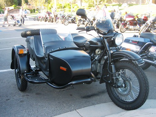 Ural Motorcycle & Side Car