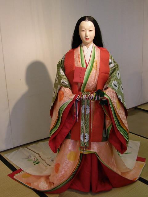 #3405 平安朝:公家女房唐衣裳束装姿 | Flickr - Photo Sharing!