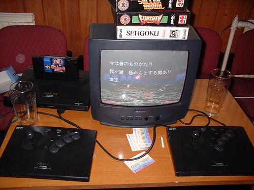 NeoGeo Table at BITLite 2005