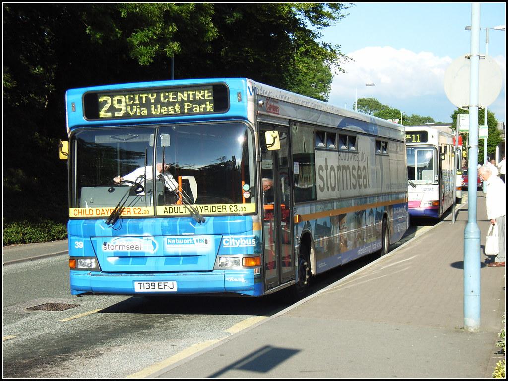 Plymouth Citybus 039 T139EFJ