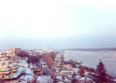 Danube at Braila: Sontec Focus Free SL 238 - film camera.