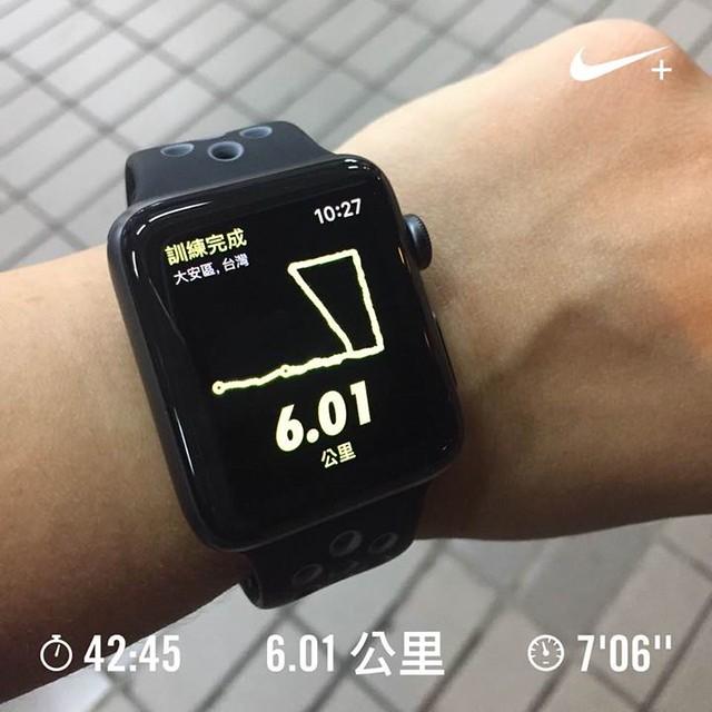 這是我的令狗錶的第一Run,本來沒打算跑這麼多,但是因為沒帶悠遊卡只好再跑回家!