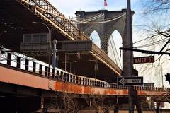 brooklyn bridge from water st.