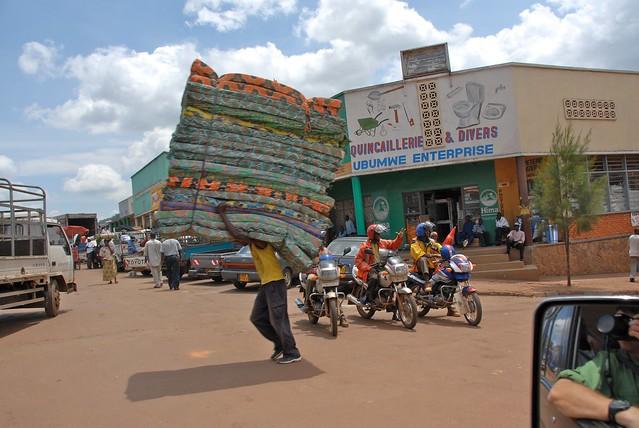Rwanda's capital city Kigali houses over 1.2 million people.