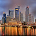 Singapore Skyline (#12) by Christopher Chan