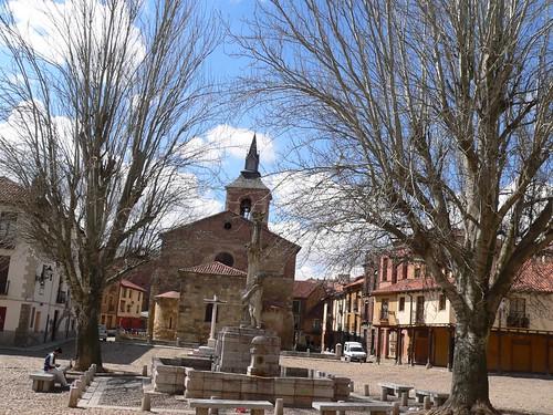 Plaza del Grano, León.