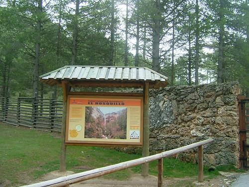 Panel de entrada de El Hosquillo