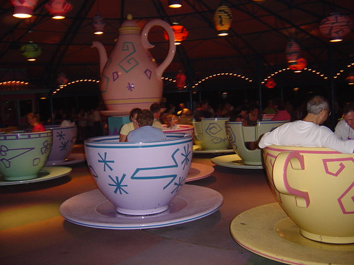 Mad Hatter's Tea Cups at Disney World, Orlando