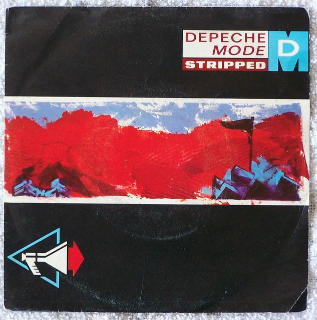 Depeche Mode - Stripped (Italian single)