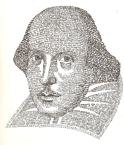 William Shakespeare - Text Portrait