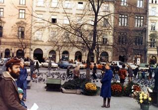 Warsaw Street scene Nov 1978