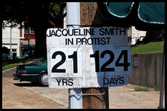 Jacqueline Smith In Protest