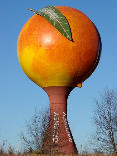 Gaffney Peachoid by orangejack