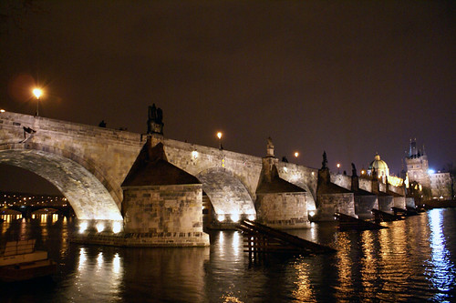 Charles Bridge (Karlův most) at night - Prague, Czech Republic by Craig Grobler