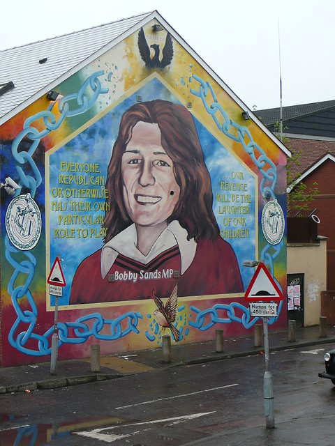 Bobby sands mural belfast flickr photo sharing for Bobby sands mural