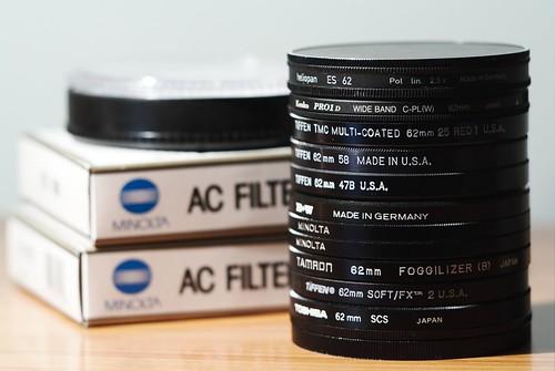 Filter stack
