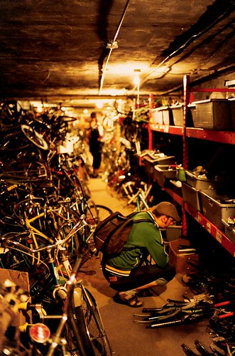 One on One bicycle studio basement III