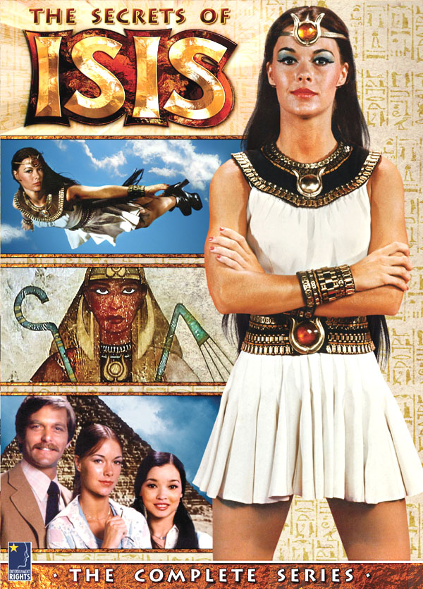 Isis Cartoon Characters 70s : Secrets of isis coming to dvd branded in the s