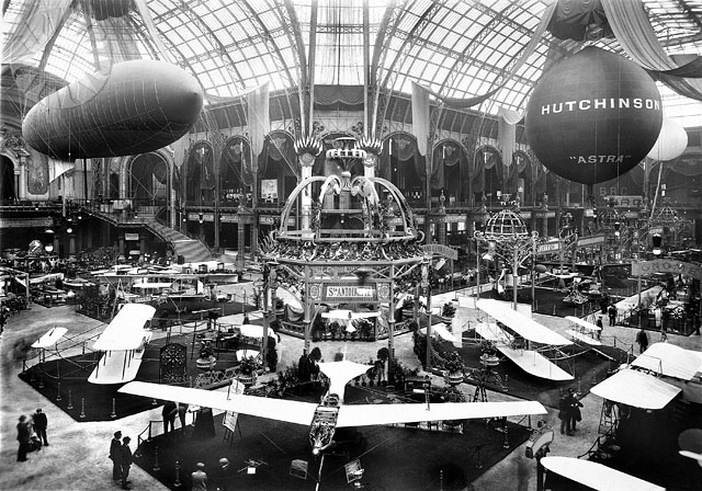 Events 1910 paris 2e exposition internationale for Salon aeronautique