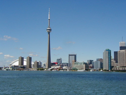 Toronto skyline: CN Tower