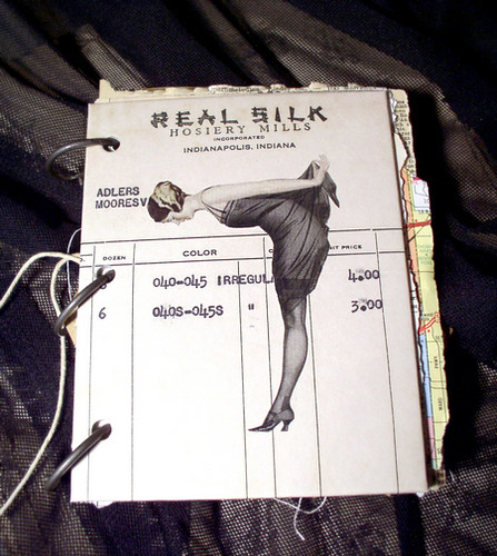 """Real Silk"" Scrap Journal"