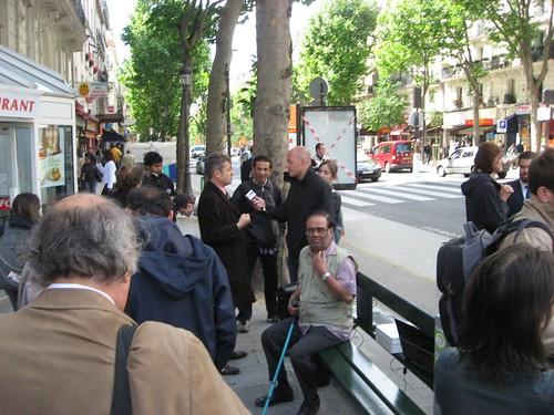 la ville de paris a inaugur u00e9 son premier banc wi