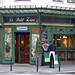Rita Crane Photography:  Paris / Historic cafe / bistro / restaurant / architecture / art nouveau / waiter / Latin Quarter / Left Bank / Le Petit Zinc, Paris