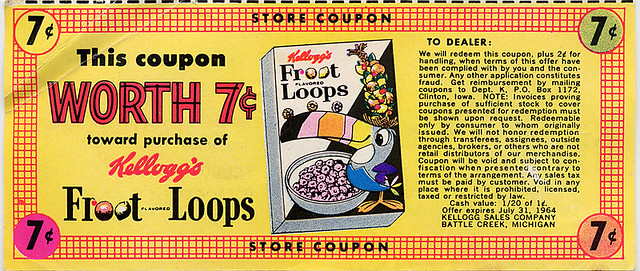 Froot Loops Coupon, 1964