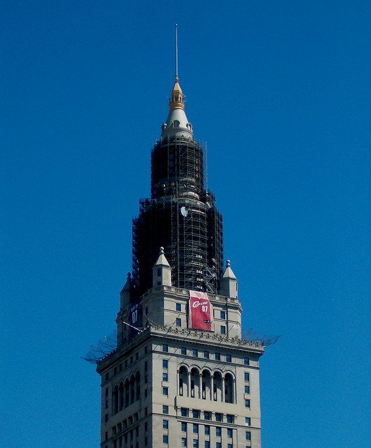 "Terminal Tower: ""Go Cavs!"" 