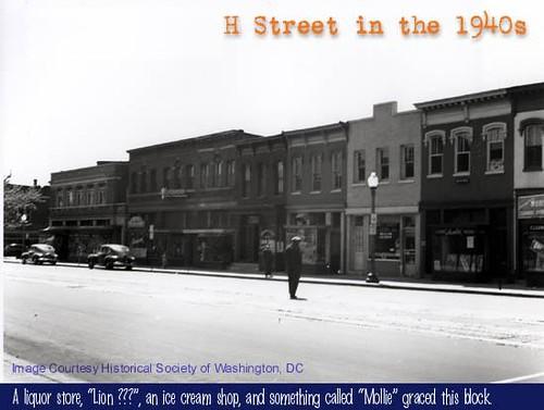 400 block south, H Street NE