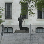 Boston - Freedom Trail: Massachusetts State House - John F. Kennedy Statue