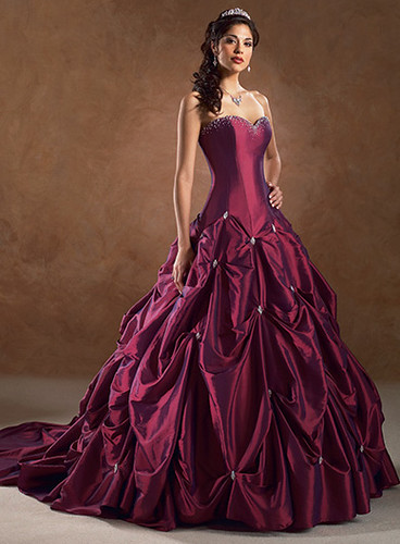 Elegant column red wedding dresses for Red dresses for weddings bridesmaid