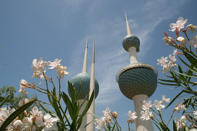 Kuwait Towers by CC user snapr on Flickr