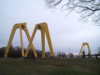 Billede af Kolmisointu. monument water suomi finland vesi järvenpää n93 kolmisointu
